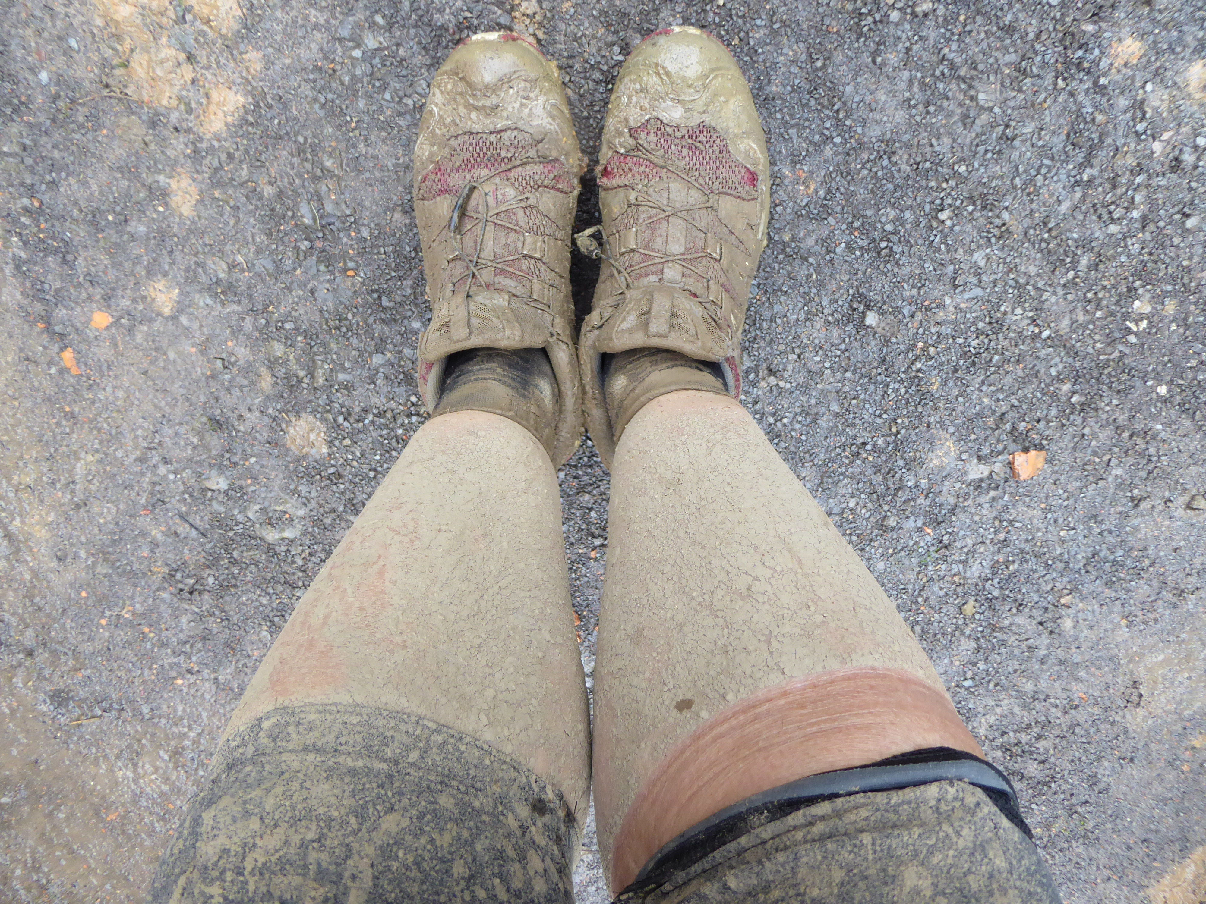 Mine mudrede ben efter dagens ridt...